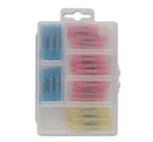 Connect 36817 36 Piece Assorted Mini Box Heat Shrink Butt Connectors